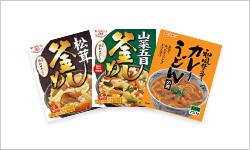 Retort pouch food